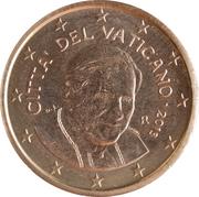 2 Euro Cent - Benedictvs XVI -  obverse