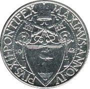 50 Centesimi - Pivs XII – obverse