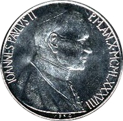 50 Lire - Ioannes Pavlvs II -  obverse