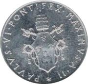 1 Lira - Pavlvs VI – obverse