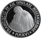 20 Euro - Franciscus (Holy Year of Mercy) – obverse