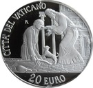 20 Euro - Franciscus (Holy Year of Mercy) – reverse