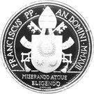 20 Euro - Franciscus (Archangels) – obverse