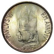 500 Lire - Pavlvs VI -  obverse