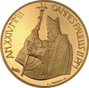50 Euro - Ioannes Paulus II (Abraham's Sacrifice) -  obverse