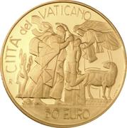 50 Euro - Ioannes Paulus II (Abraham's Sacrifice) -  reverse