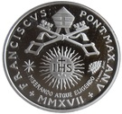 10 Euro - Franciscus (25th World Day of the Sick) – obverse