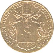 10 Centesimi - Pivs XII – obverse