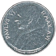 100 Lire - Pavlvs VI - FAO -  obverse