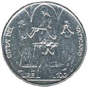 100 Lire - Pavlvs VI - FAO -  reverse