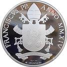 20 Euro - Franciscus (Canonization) – obverse