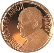 50 Euro - Franciscus (450th Anniversary of the Death of Michelangelo) -  obverse