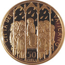 50 Euro - Benedictus XVI (The Sacraments of Christian Initiation - Confirmation) – reverse