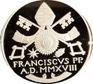 20 Euro - Franciscus – obverse