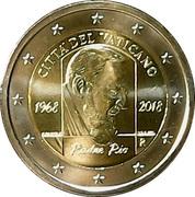 2 Euro - Franciscus (Padre Pio) -  obverse