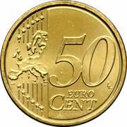 50 Euro Cent - Franciscus -  reverse