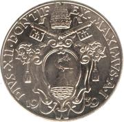 1 Lira - Pivs XII – obverse