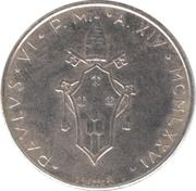 50 Lire - Pavlvs VI (Olive) -  obverse