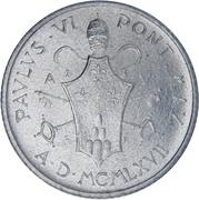 2 Lire - Pavlvs VI – obverse