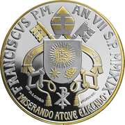 5 Euro - Franciscus (Circolo S. Pietro) -  obverse