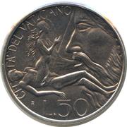 50 Lire - Ioannes Pavlvs II -  reverse