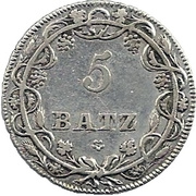 5 Batzen -  reverse