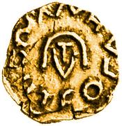 Tremissis - Agiulfus (Aventicum, Merovingian mint) – obverse