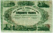 50 Francs (Crédit Agricole et Industriel de la Broye) – obverse