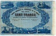 100 Francs (Crédit Agricole et Industriel de la Broye)