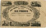 10 Francs (Crédit Agricole et Industriel de la Broye) – obverse