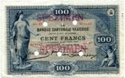 100 Francs (Banque Cantonale Vaudoise) – obverse