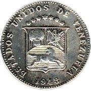 12½ Céntimos -  obverse
