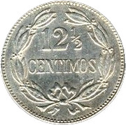 12½ Céntimos -  reverse