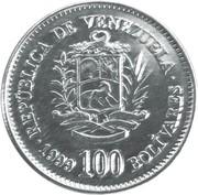 100 Bolívares -  obverse