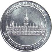 100 Bolívares (José M. Vargas) – obverse