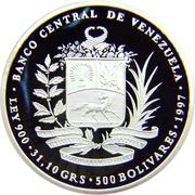 500 Bolívares (Gual & España Conspiracy) – obverse