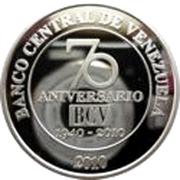 50 Bolívares (Central Bank) – obverse