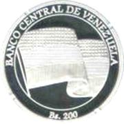 200 Bolívares (Francisco de Miranda) -  obverse