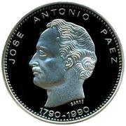 500 Bolivares (Jose Antonio Paez) – reverse