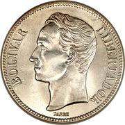 5 Bolívares – reverse