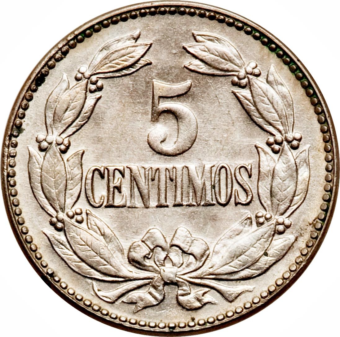 5 centimos coin