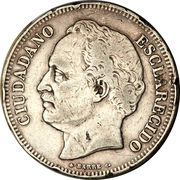 10 Reales – obverse