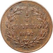 ¼ Centavo – reverse