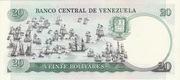 20 Bolivares – reverse