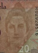 20 Bolívares -  obverse