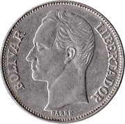 2 Bolívares -  reverse