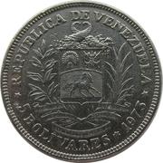 5 Bolívares – obverse