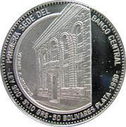 50 Bolivares (Central Bank) – reverse