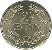 12½ Centimos – reverse