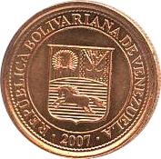 1 Céntimo – obverse